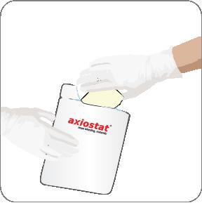 Axiostat Emergency haemostatic Dressing pouch