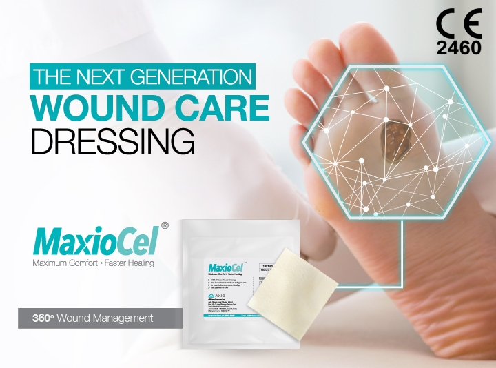 MaxioCel Advanced Wound Care dressing India CE Approved products